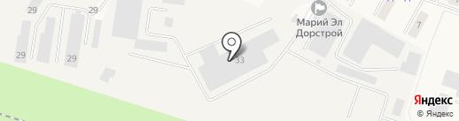 Кладочная сетка на карте Медведево