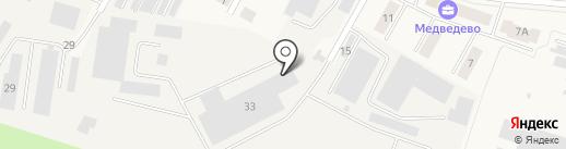 Торгово-производственная компания на карте Медведево