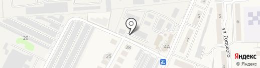Тройспект на карте Медведево