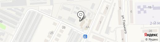 Автосервис на карте Медведево