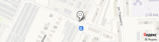 Владимир на карте Медведево