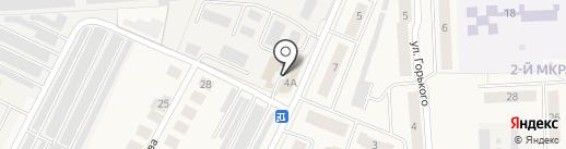 Сервисный автоцентр на карте Медведево