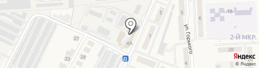 Бизнес-Сервис на карте Медведево