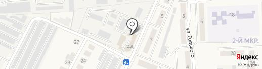 Магазин автозапчастей на карте Медведево