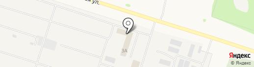 Столовая на карте Медведево