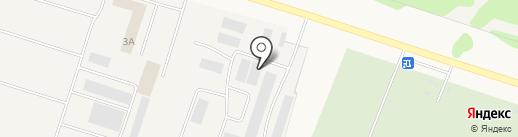 Горизон на карте Медведево
