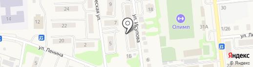 ПМК-5 на карте Медведево