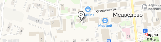 Татьяна на карте Медведево