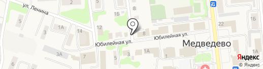 Qiwi на карте Медведево