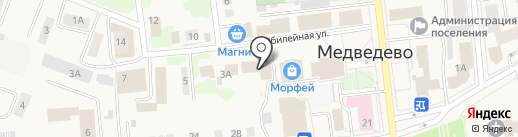 Уют на карте Медведево