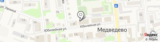 Ваша оптика на карте Медведево