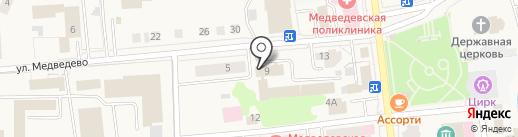 УФМС на карте Медведево