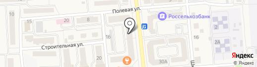 Красное & Белое на карте Медведево