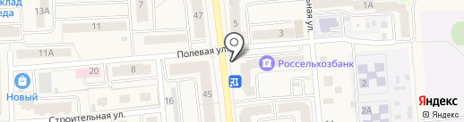 Хозмаркет на карте Медведево