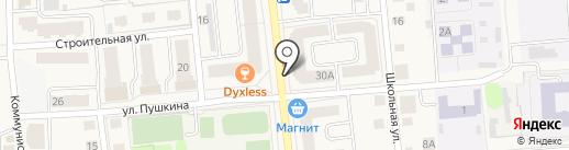 Мебель City на карте Медведево