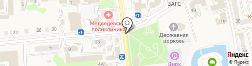 ВАШ ЛОМБАРД на карте Медведево