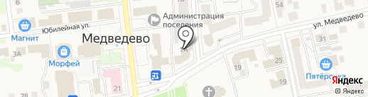 ИФНС на карте Медведево