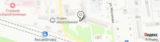 Детская библиотека пос. Медведево на карте Медведево