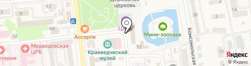Отдел военного комиссариата Республики Марий Эл по Медведевскому и Килемарскому районам на карте Медведево
