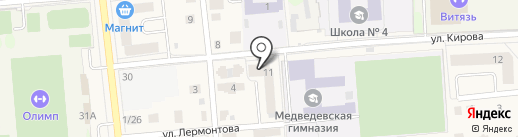 Медведевская строительная компания на карте Медведево