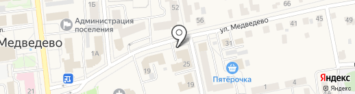 Медведевский районный суд на карте Медведево