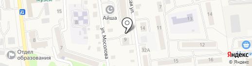 Акварель на карте Медведево