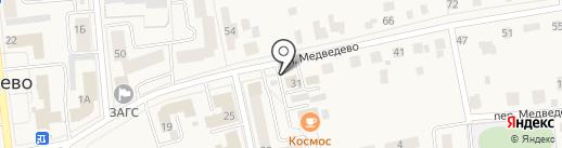Следственное управление по Республике Марий Эл на карте Медведево