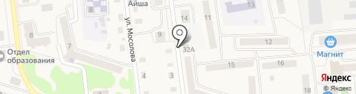 Вера на карте Медведево