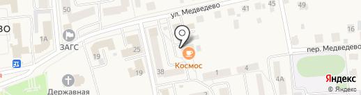 Пятёрочка на карте Медведево