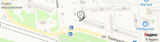 Три троечки на карте Медведево