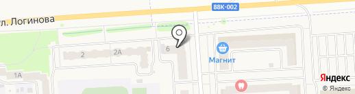 Оптово-розничный магазин игрушек на карте Медведево