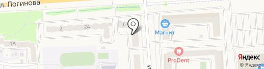ПУДРА на карте Медведево