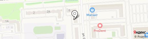 Хорошенький на карте Медведево