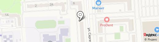 Мега-Дент на карте Медведево