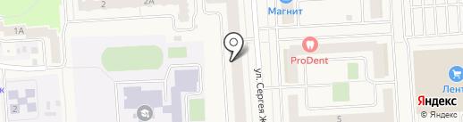 Хобби-Арт на карте Медведево
