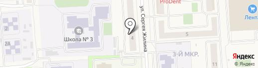 Хмель на карте Медведево