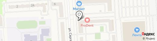 Росагрострой на карте Медведево