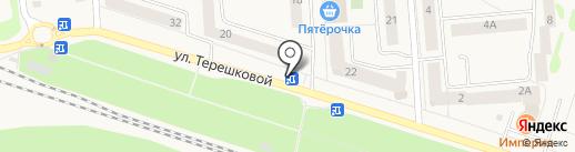 Семицветик на карте Медведево