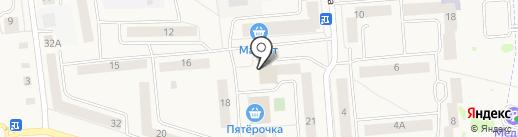 Акашево на карте Медведево