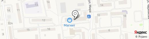 Магнит косметик на карте Медведево