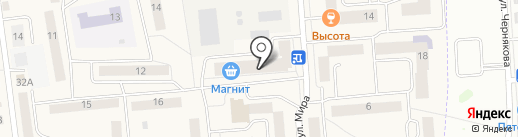 Пивтека на карте Медведево