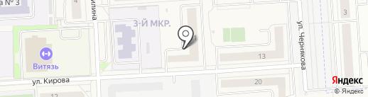 Спектр-М на карте Медведево