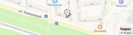 Ольга на карте Медведево