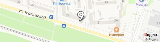 Мастерская по ремонту одежды на карте Медведево