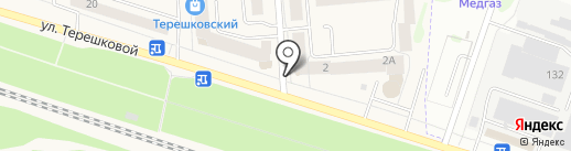 Продуктовый магазин на карте Медведево