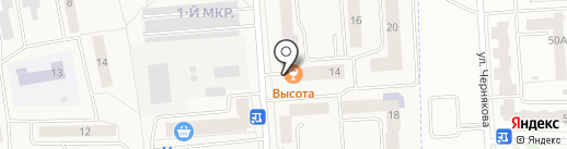 Вивальди плюс на карте Медведево