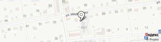 ВашаКомната.РФ на карте Медведево