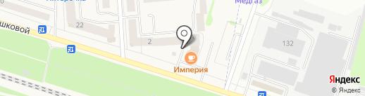 Спецстроймеханизация на карте Медведево