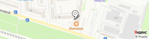 Империя на карте Медведево
