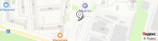 Ринмед на карте Медведево